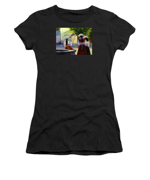 Colca Valley Ladies, Peru Impression Women's T-Shirt (Athletic Fit)