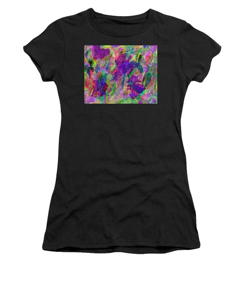 Color Dream Play Women's T-Shirt (Athletic Fit)