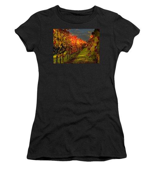 Color On The Vine Women's T-Shirt (Athletic Fit)