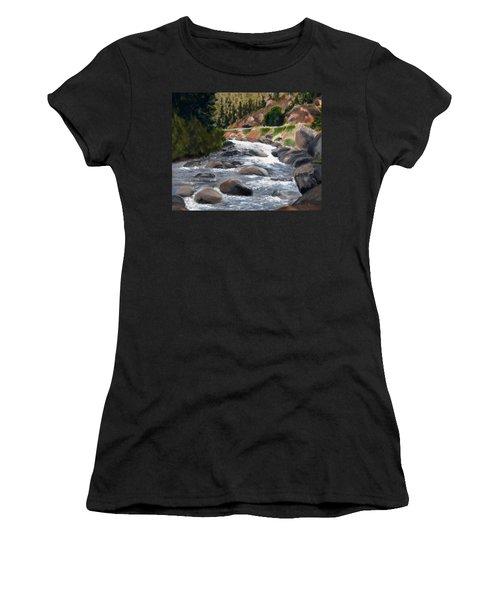Colorado Rapids Women's T-Shirt (Junior Cut) by Jamie Frier