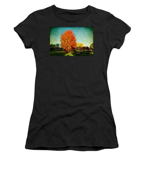 Colorful Autumn Women's T-Shirt