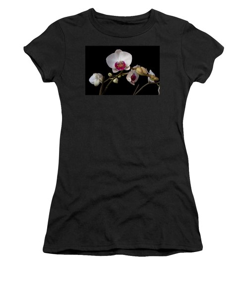 Colorful Moth Orchid Women's T-Shirt (Athletic Fit)