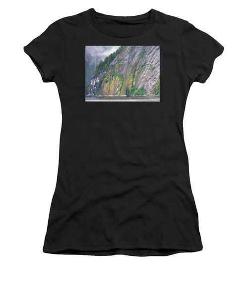 Colors Of Alaska - Misty Fjords Women's T-Shirt (Athletic Fit)