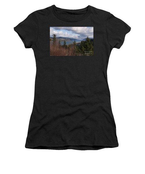 Columbia Gorge Women's T-Shirt (Junior Cut) by Belinda Greb