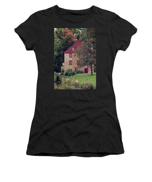 Colvin Run Mill Women's T-Shirt (Junior Cut) by Greg Reed