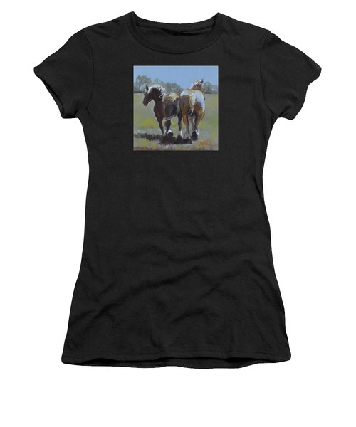 Come Back Max And Major Women's T-Shirt (Athletic Fit)