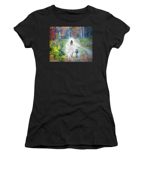Come Walk With Me Women's T-Shirt (Athletic Fit)