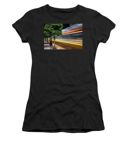 Commuter Train Women's T-Shirt (Athletic Fit)