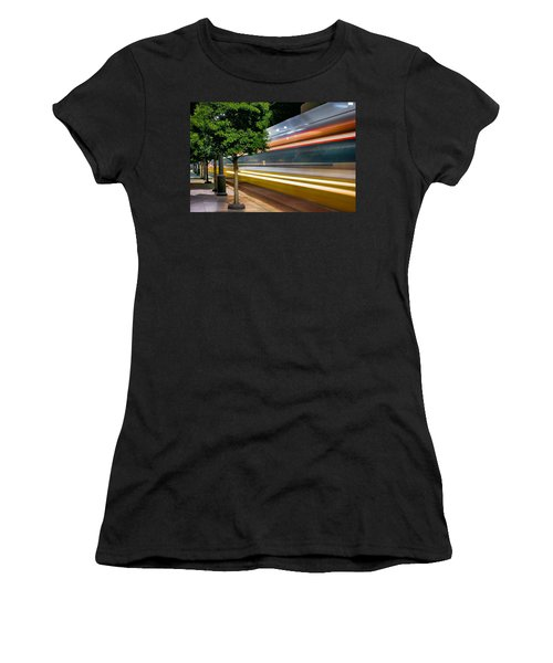 Dallas Commuter Train 052214 Women's T-Shirt (Athletic Fit)