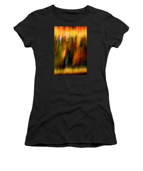Condiments Women's T-Shirt (Junior Cut) by Darryl Dalton