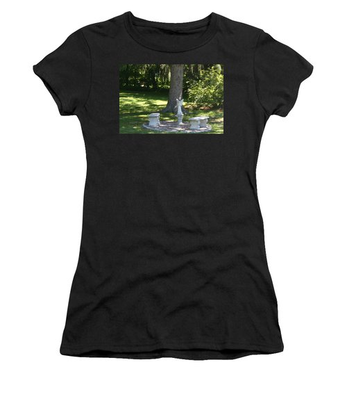 Contemplation Women's T-Shirt (Junior Cut) by David S Reynolds