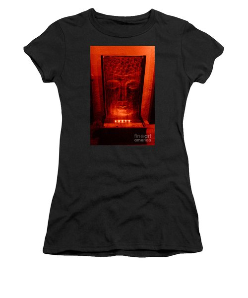 Women's T-Shirt (Junior Cut) featuring the photograph Contemplation by Linda Prewer
