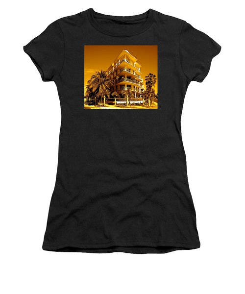 Cool Iron Building In Miami Women's T-Shirt