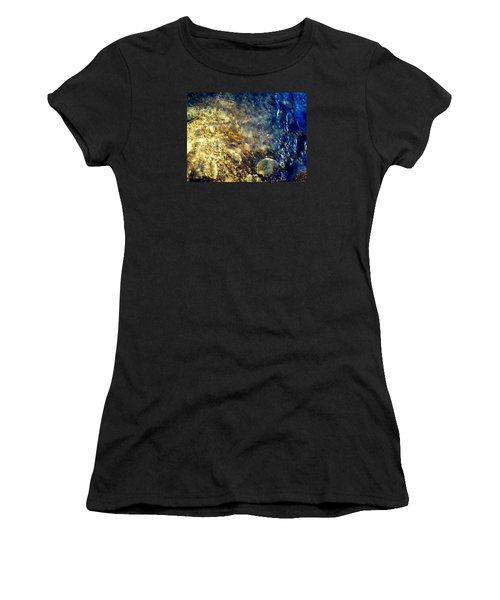Cool Waters...of The Rifle River Women's T-Shirt (Junior Cut) by Daniel Thompson