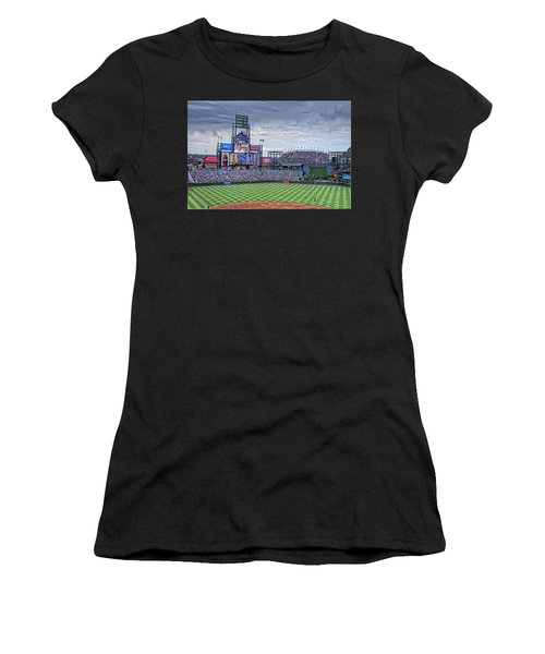Coors Field Women's T-Shirt (Athletic Fit)