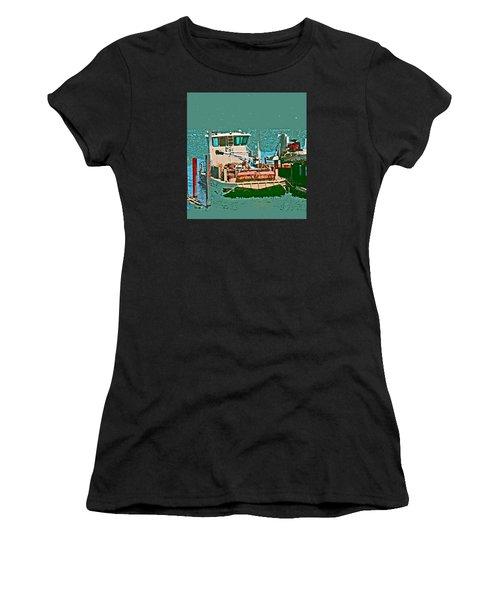 Coos Bay Oyster Farm Women's T-Shirt