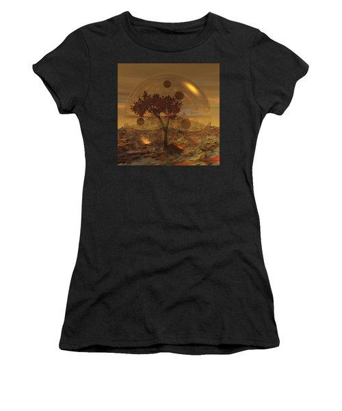 Copper Terrarium Women's T-Shirt (Athletic Fit)