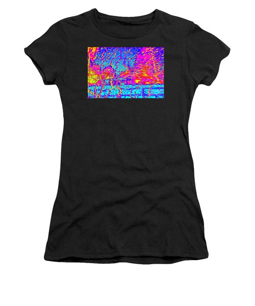 Cosmic Series 021 Women's T-Shirt (Athletic Fit)