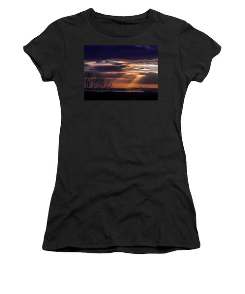 Cosmic Spotlight On Shannon Airport Women's T-Shirt