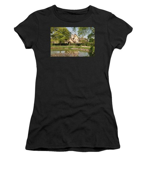 Cottage In The Hameau De La Reine Women's T-Shirt (Athletic Fit)