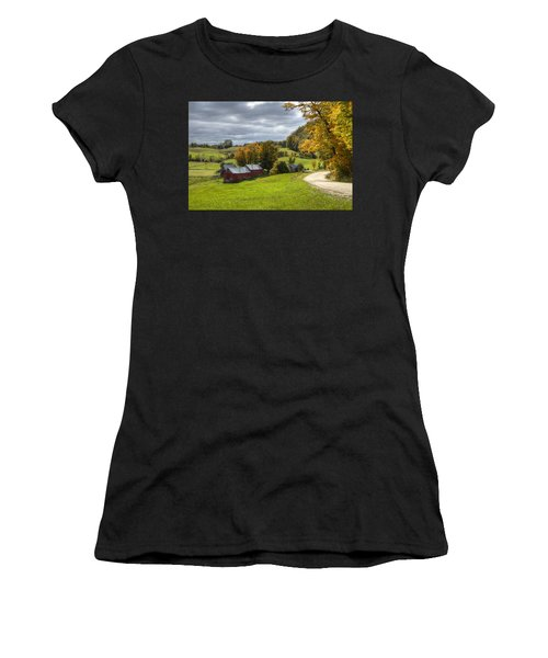 Country Farm Women's T-Shirt (Athletic Fit)