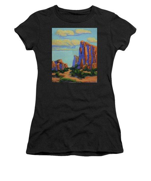Courthouse Rock In Sedona Women's T-Shirt