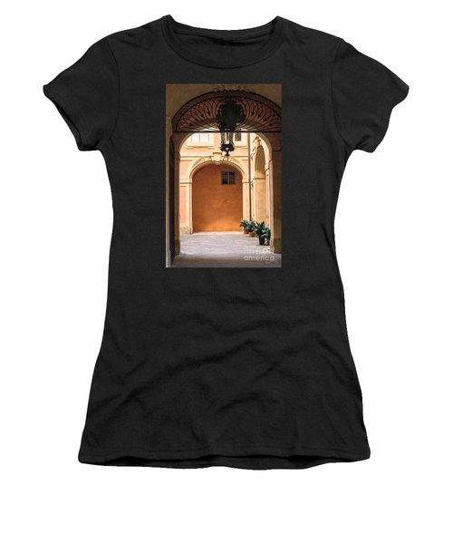 Courtyard Of Siena Women's T-Shirt