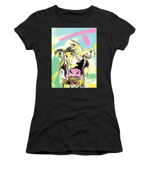 Cow- Happy Cow Women's T-Shirt