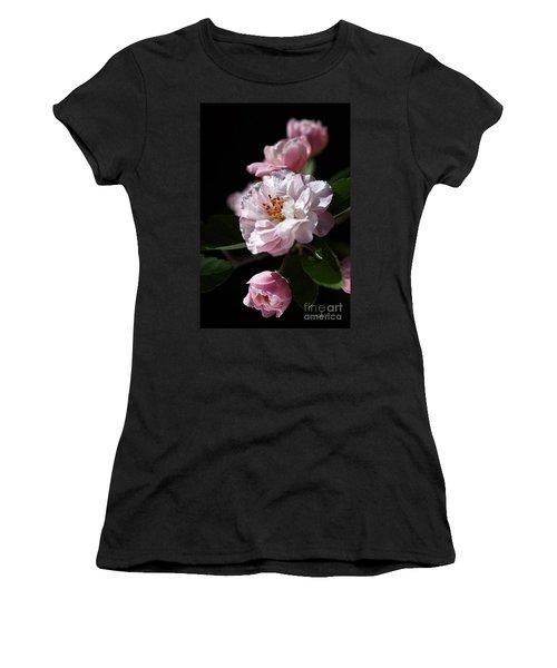 Crabapple Flowers Women's T-Shirt