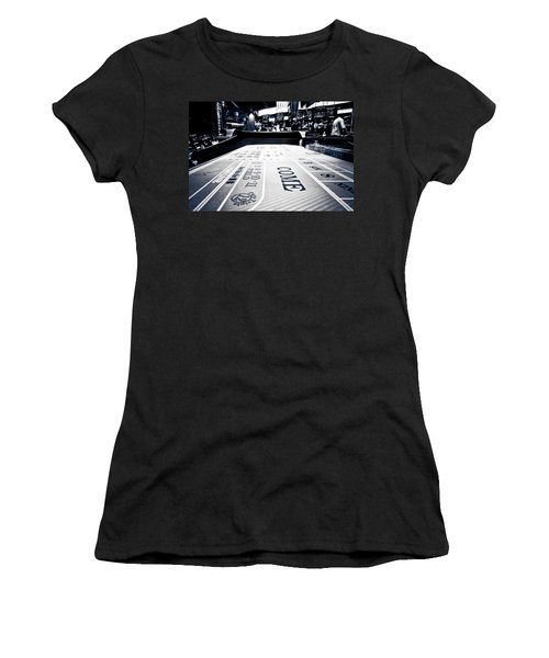 Craps Table In Las Vegas Women's T-Shirt (Athletic Fit)