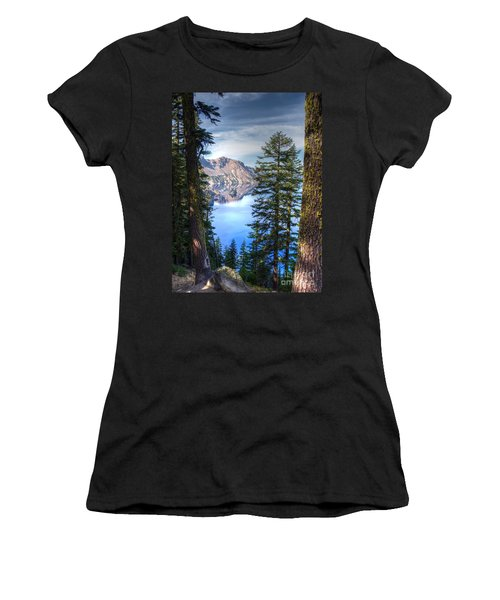 Crater Lake 1 Women's T-Shirt (Athletic Fit)