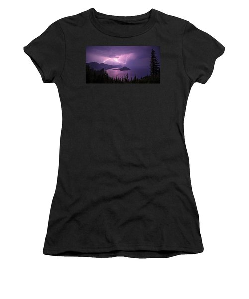 Crater Storm Women's T-Shirt