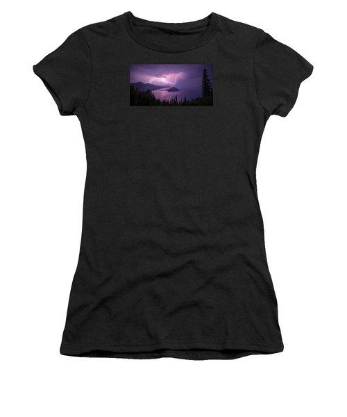 Crater Storm Women's T-Shirt