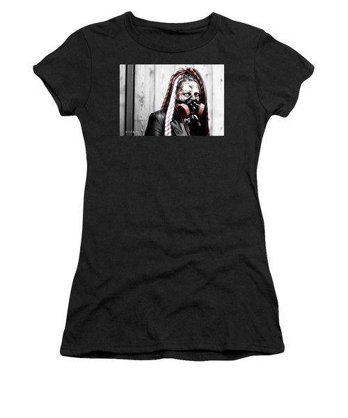Creepy Red Vision Women's T-Shirt