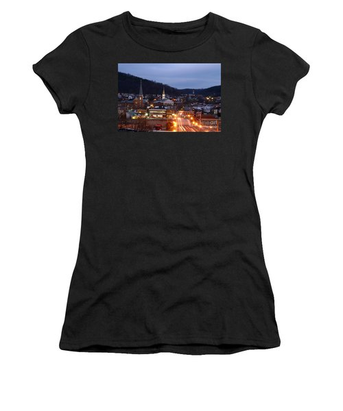 Cumberland At Night Women's T-Shirt (Athletic Fit)