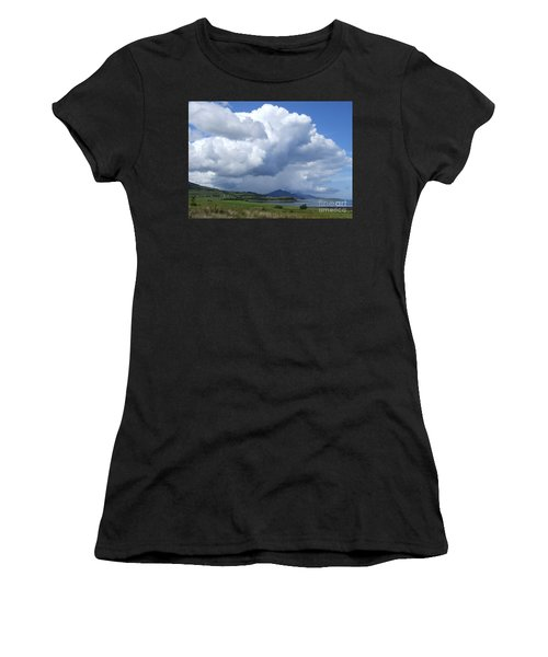 Cumulus Clouds - Isle Of Skye Women's T-Shirt (Athletic Fit)