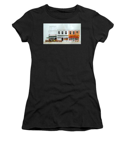 Cutrona's Market On King St. Women's T-Shirt (Athletic Fit)