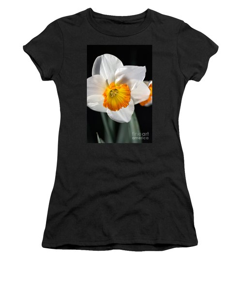 Daffodil In White Women's T-Shirt