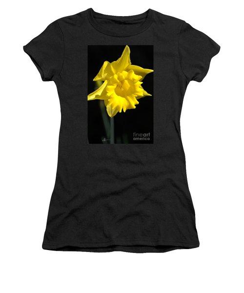 Daffodil Yellow Bloom Women's T-Shirt