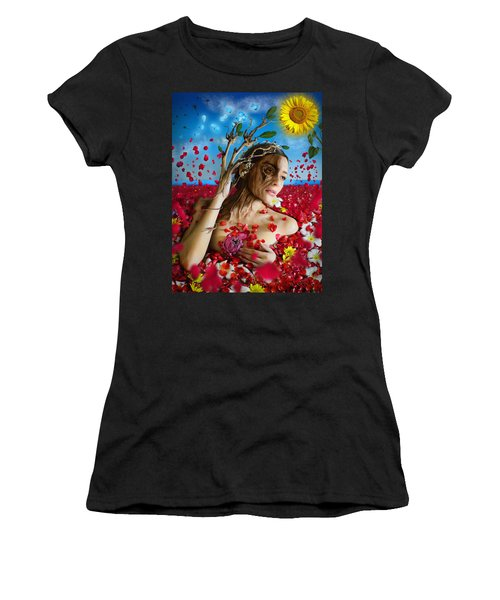 Dafne   Hit In The Physical But Hurt The Soul Women's T-Shirt