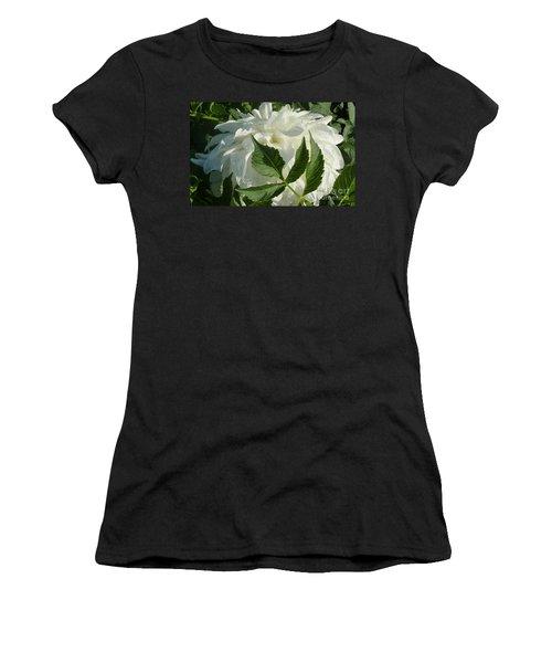 Dahlia Delicate Dancer Women's T-Shirt (Junior Cut) by Susan Garren