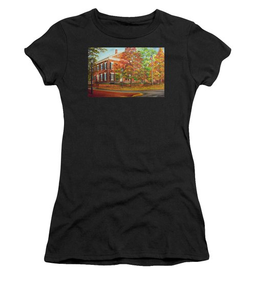 Dahlonega's Gold Museum In Autumn Women's T-Shirt