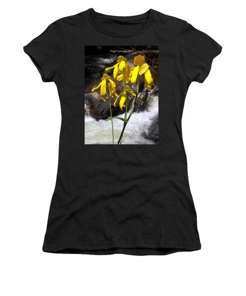 Daisies Near The Water  Women's T-Shirt