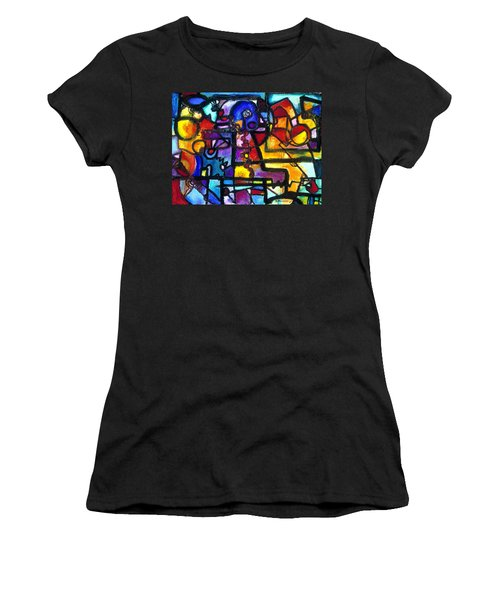 Dance Of The Gauge Bosons In Vacuum Women's T-Shirt