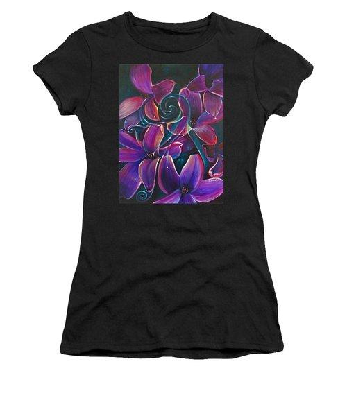 Dancing Hyacinths Women's T-Shirt