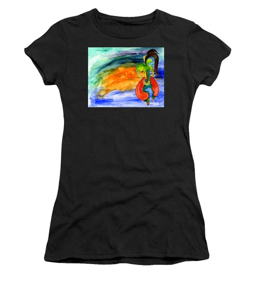 Dancing Tree Of Life Women's T-Shirt (Athletic Fit)