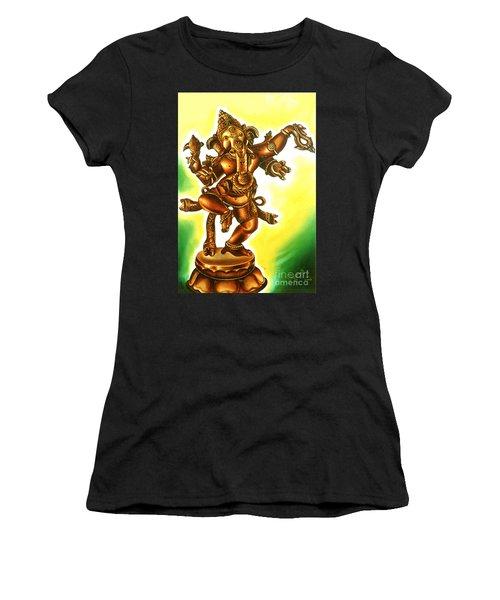 Dancing Vinayaga Women's T-Shirt (Athletic Fit)