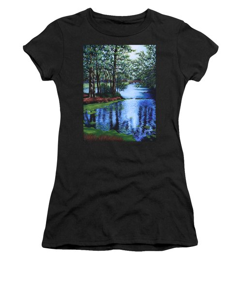 Dancing Waters Women's T-Shirt (Athletic Fit)