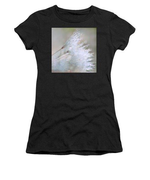 Dandelion Bling Bokeh Women's T-Shirt (Athletic Fit)