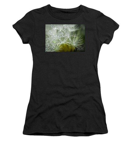 Dandelion Dew Women's T-Shirt (Athletic Fit)